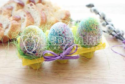 Пасхальные яйца «Фейерверк»