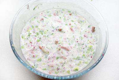 блины на кефире с минералкой рецепт #10