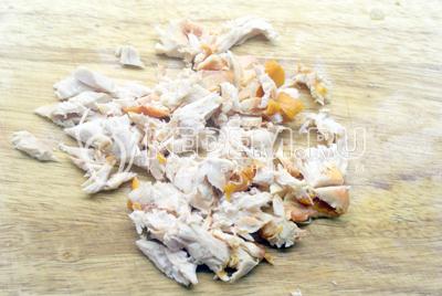Блины с курицей – кулинарный рецепт