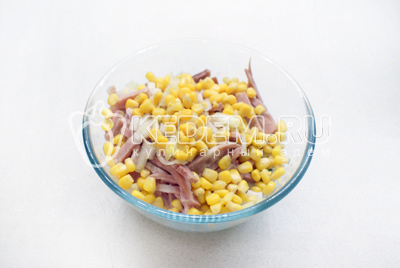 "Cалат ""Cолнце моe"" – кулинарный рецепт"