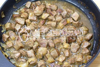 Салат обжорка из печени рецепт с 123