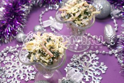 Салат «Новогодняя ночь»