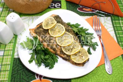 Горбуша в фольге с лимоном - пошаговый рецепт с фото на Повар 77