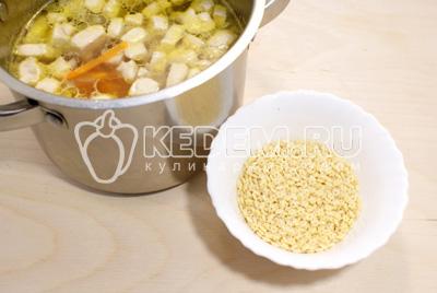 Суп с курицей, овощами и ньокками , пошаговый рецепт с фото