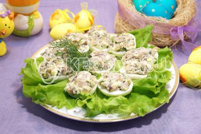 Фаршированные грибы – кулинарный рецепт