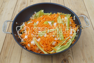 Овощная закуска – кулинарный рецепт