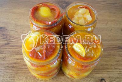 Салат из болгарского перца с огоньком – кулинарный рецепт