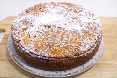 Перевернутый пирог из тыквы