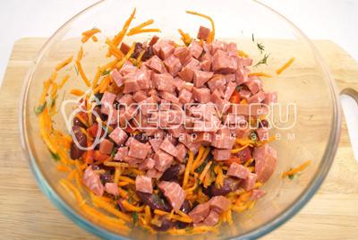 Щи на говяжьем бульоне из квашеной капусты
