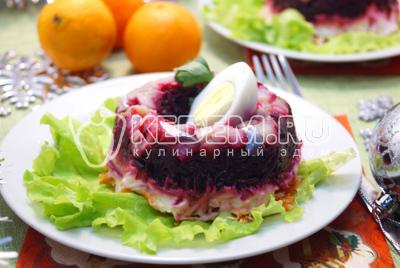 салат рыба на шубе рецепт пошаговый