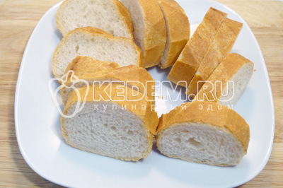 батон с начинкой в духовке пошаговый рецепт