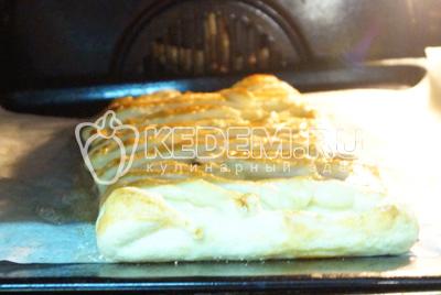 Пирог слоеный с яблоками – кулинарный рецепт