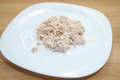 """Салат с курицей """"Гвоздь программы"""" – кулинарный рецепт"""