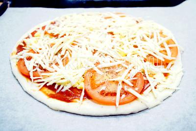 "Пицца ""Елочка"" – кулинарный рецепт"