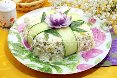 Салат подарок с фото пошагово 751