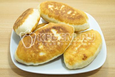 Пирожки с яйцом и зеленым луком, пошаговый рецепт с фото