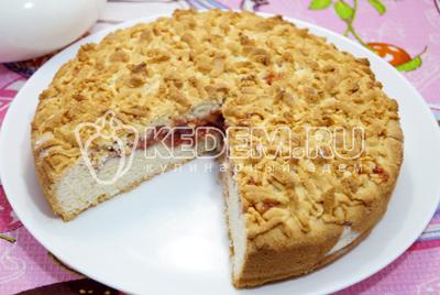 "Тертый пирог ""Быстрый"" – кулинарный рецепт"