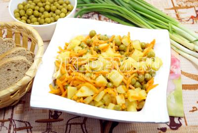 салат из картофеля по корейски рецепт с фото