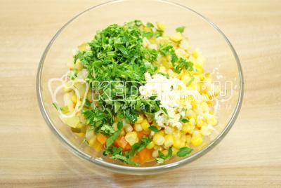 Салат из трех видов риса – кулинарный рецепт