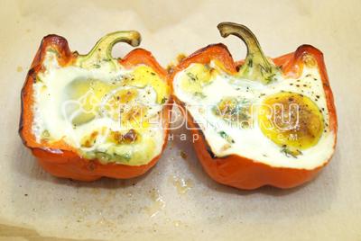 курица в духовке с яйцом и сыром рецепт