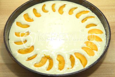 """Пирог с абрикосами """"Дивный"""" – кулинарный рецепт"""