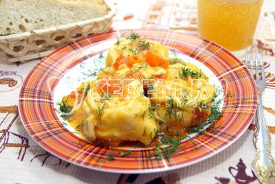 Пита с мясом курицы – кулинарный рецепт