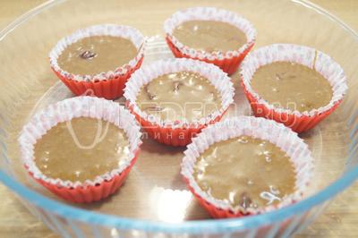 Маффины с вишней и шоколадом