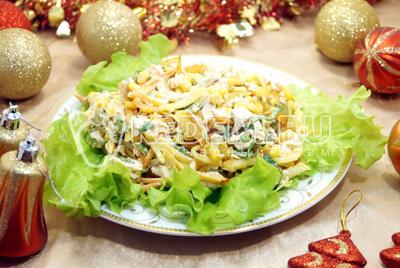 тарталетки с начинкой курица с грибами рецепты с фото #2