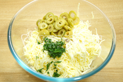 Перец с сыром «Новогодний»