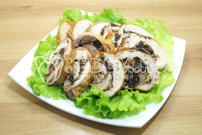 салат версаль с черносливом рецепт