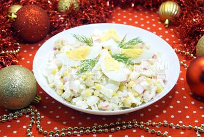Салат «Снежок»