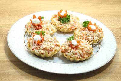 Простые рецепты салатов яйцами