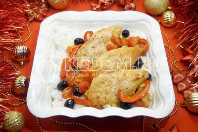 курица в духовке целиком рецепт с фото с яблоками в рукаве