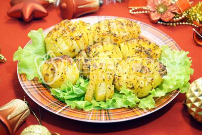 Запеченный картофель «Сибирский ананас»
