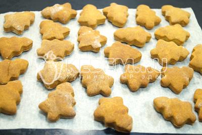 Медовое печенье «Ёлочки»