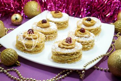 Мини тортики «Медовые сласти»