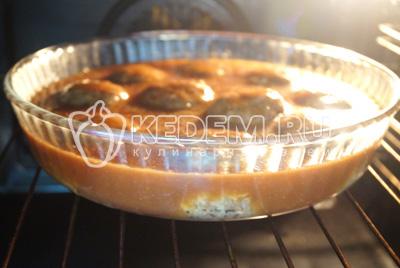Готовить в духовке при температуре 180 градусов С 30 минут.