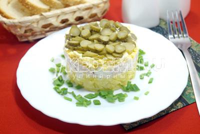 салат маргарита рецепт с курицей