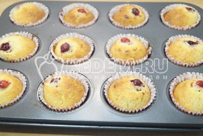 Рецепт кексов в формочках с фото пошаговый