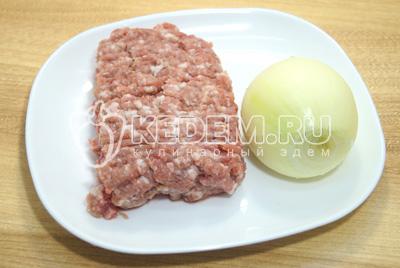 Блины с мясом и грибами