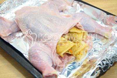 рецепт салата курица с блинами рецепт с фото