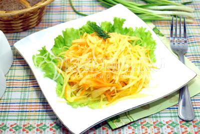 Вкусный салат из кабачков на зиму пошаговый фото рецепт