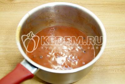Соус из томатной пасты