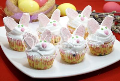 Кексы «Пасхальные кролики»
