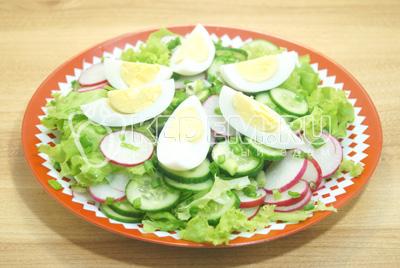 вкусные салаты с яйцом и курицей рецепт