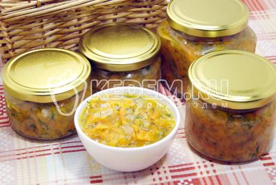 Заправка для супа на зиму в мультиварке «Золотая осень»