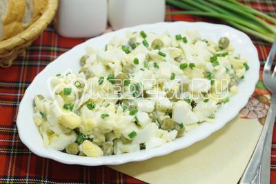 Салат из яиц «Милан»
