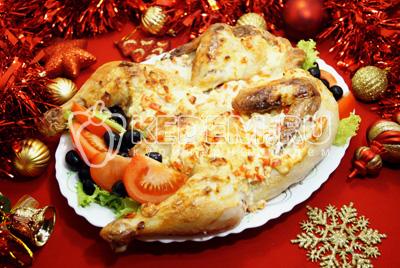 Курица с сыром в духовке «Жар-птица»