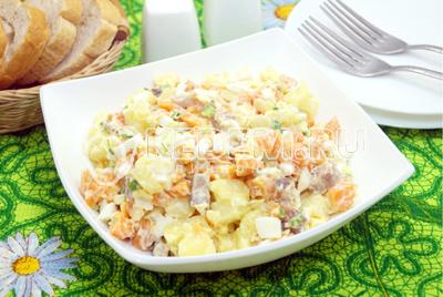 Салат с селедкой «Атлантика»