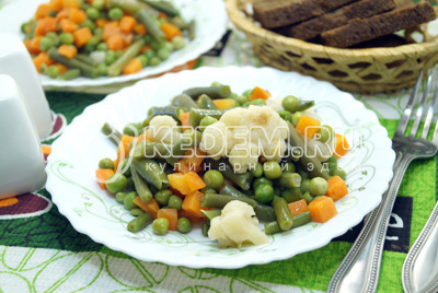 Гарнир из овощей